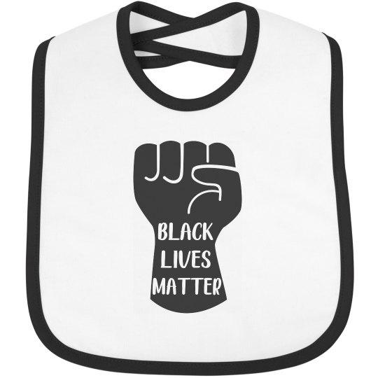 Black Lives Matter Infant Baby Bib