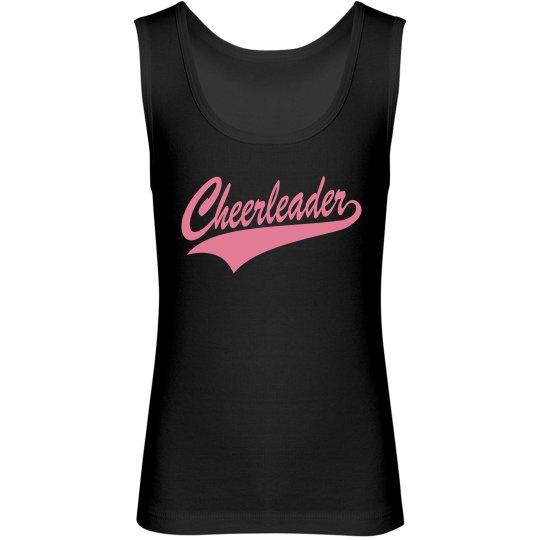 Black Pink Cheerleader Tank