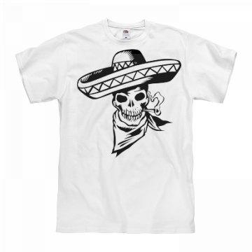 Black Sombrero Skull