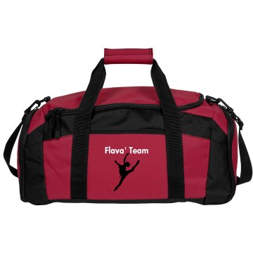 Black Team Dance Bag