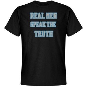 black tshirt real men