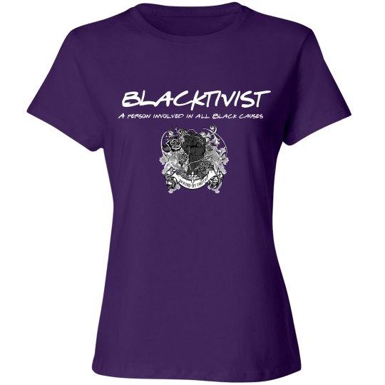 Blacktivist Purple design