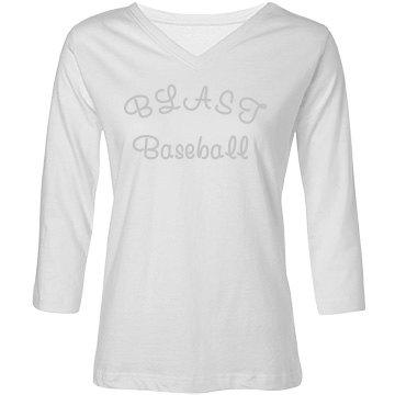 Blast Baseball - white