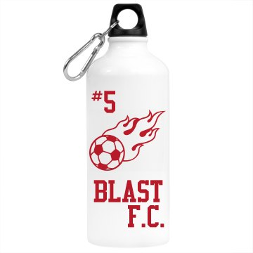 Blast F.C. Water Bottle