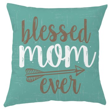 Blessed Mom Ever Christian T-Shirt
