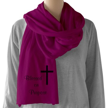 Blessed on Purpose Scarf