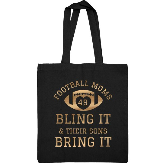 Bling It Football Mom Gear Bag