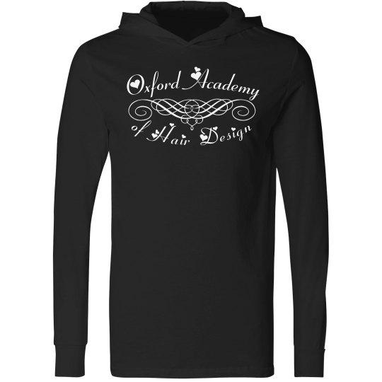 blk hoodie scroll design