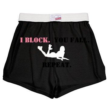 Block. Fall. Repeat.