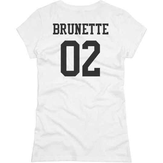 Blonde & Brunette Matching Friends