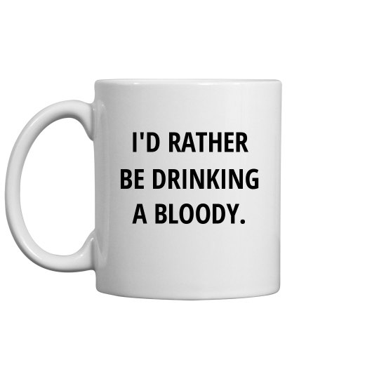 Bloody Mary Over Coffee