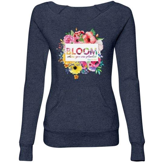 Bloom 2019 SWAG - fleece pullover