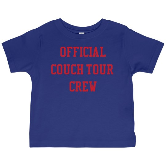 Blue & Red Crew