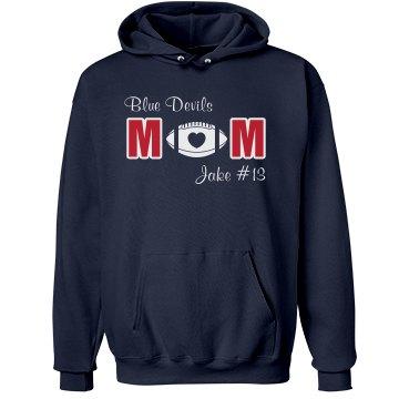 Blue Devils Football Mom