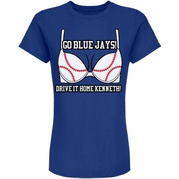Blue Jays Baseball GF Bra