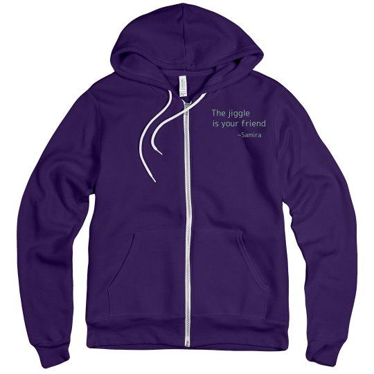 Blue mandala hoodie