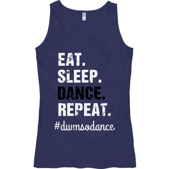 blue sleep dance