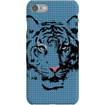 Blue Tiger iPhone Case