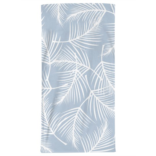 Boho Plant Print Beach Towel Large Beach Towel