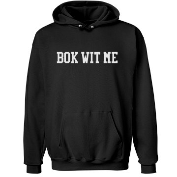 Bok Wit Me (front)