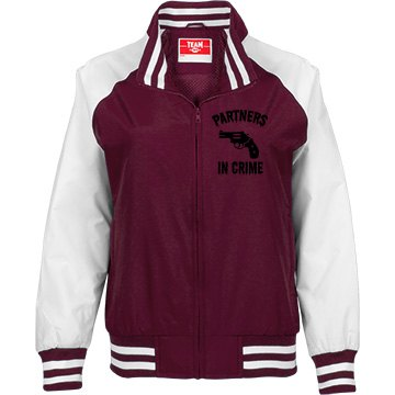 Bonnie and Clyde Jacket (Bonnie) Maroon
