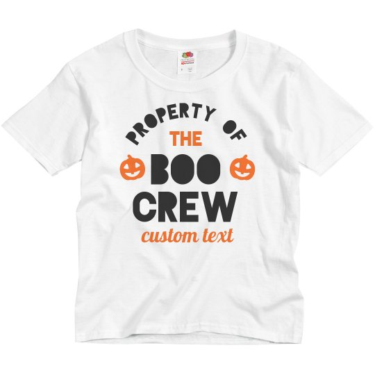 Boo Crew Custom Family Tees