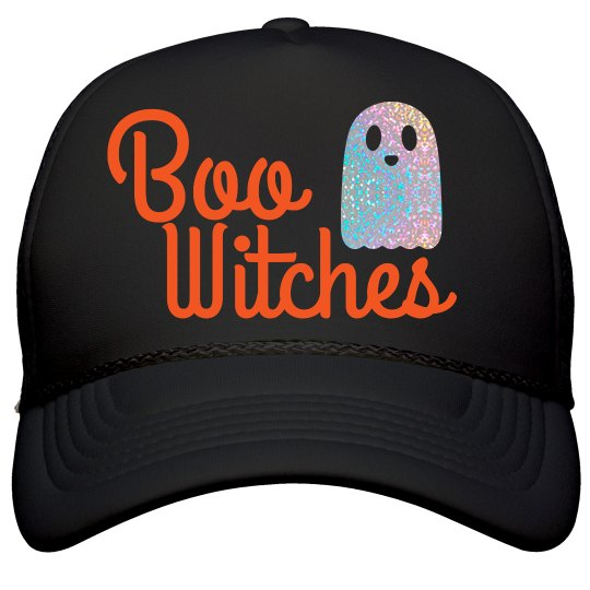 Boo Witches Halloween Hat