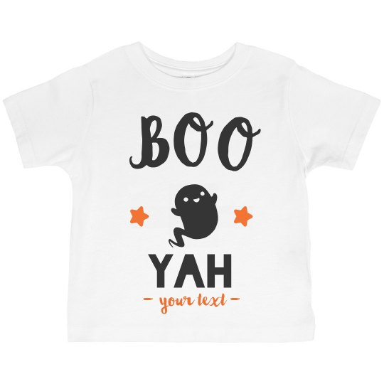 Boo Yah Custom Toddler Tee