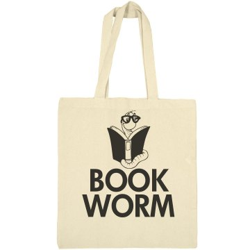 Book worm bag