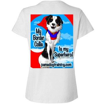 Border Collies Superhero