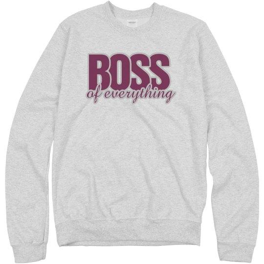 Boss Of Everything