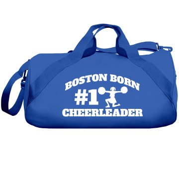 Boston cheerleader