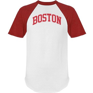 Boston Custom Personalized Name & Number Jersey