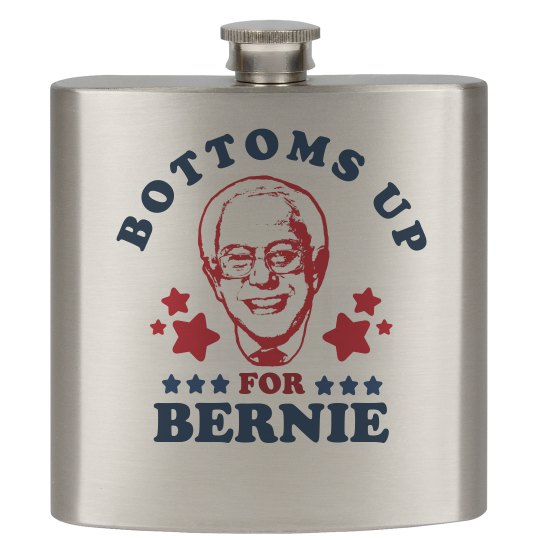 Bottoms Up For Bernie