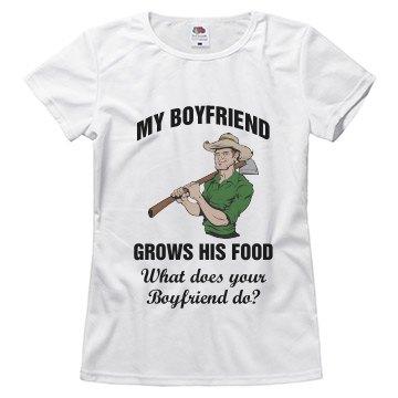 Boyfriend grows his food