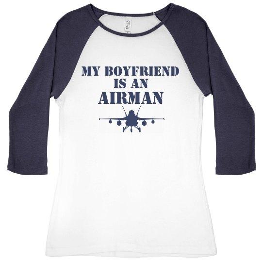 Boyfriend in Air Force