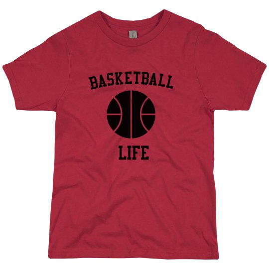 Boys Basketball Tee