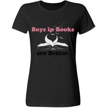Boys in Books Black Miss