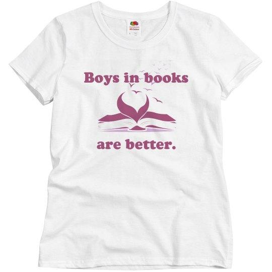 Boys in Books Misses