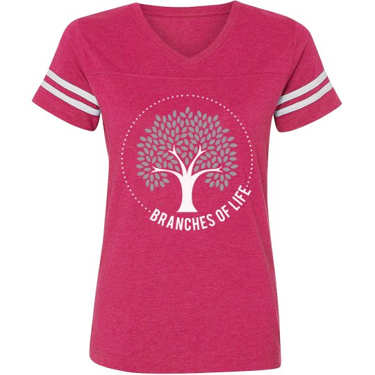 Branches Women's Football Tee