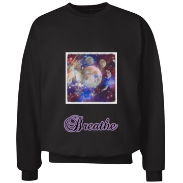 Breathe Galaxy Crewneck