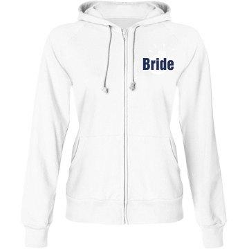 Bride Hoodie with Back