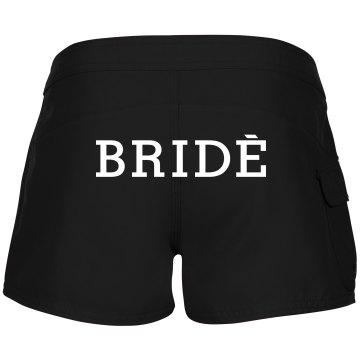 Bride Shorts