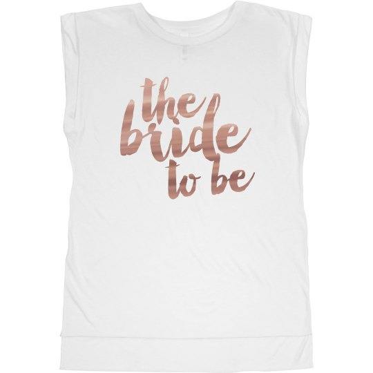 Bride to Be Metallic
