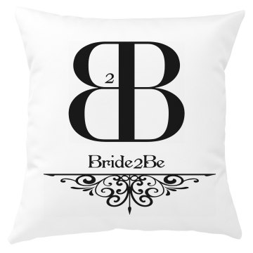 Bride to Be pillow