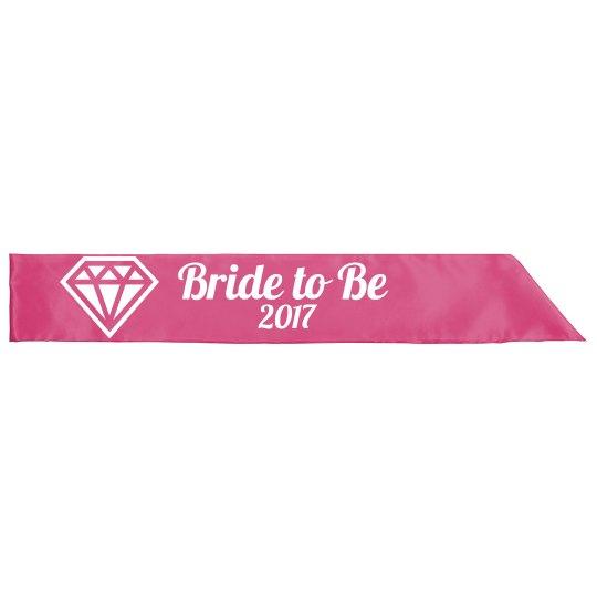 Bride to Be sash