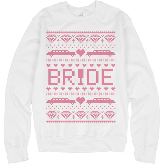 Bride Ugly Sweater