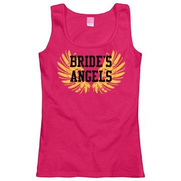Bride's Angels Bachelorette Tank Top