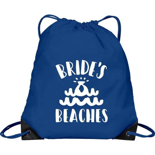 Bride's Beaches Bridesmaid's Backpack