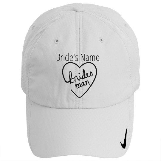 Bride's Man Hat Bridal Party Gift
